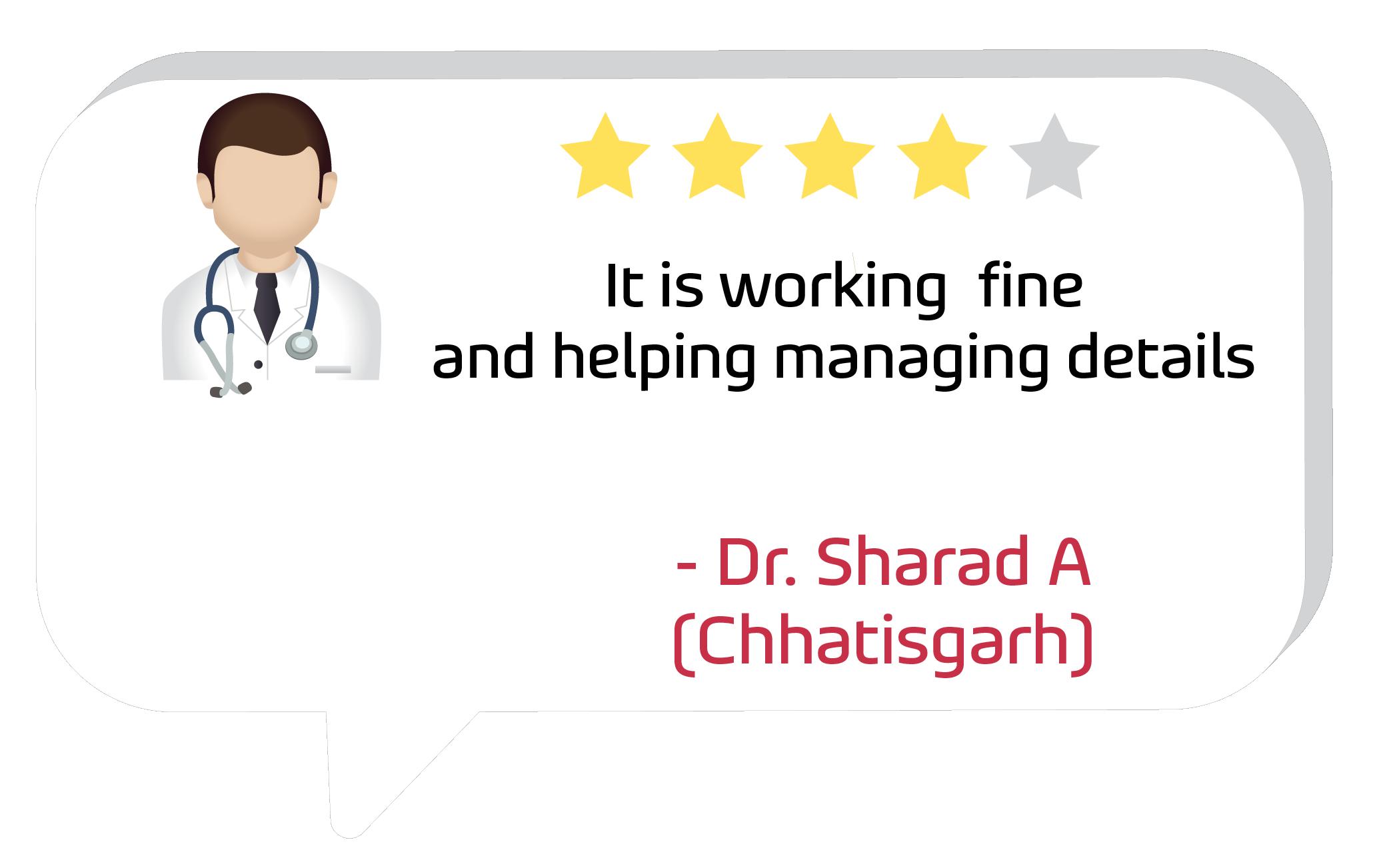 Dr. Sharad A